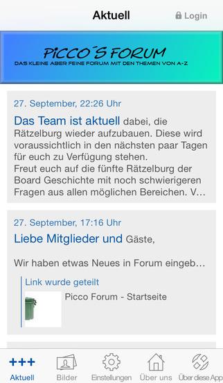 Picco Forum screenshot 1