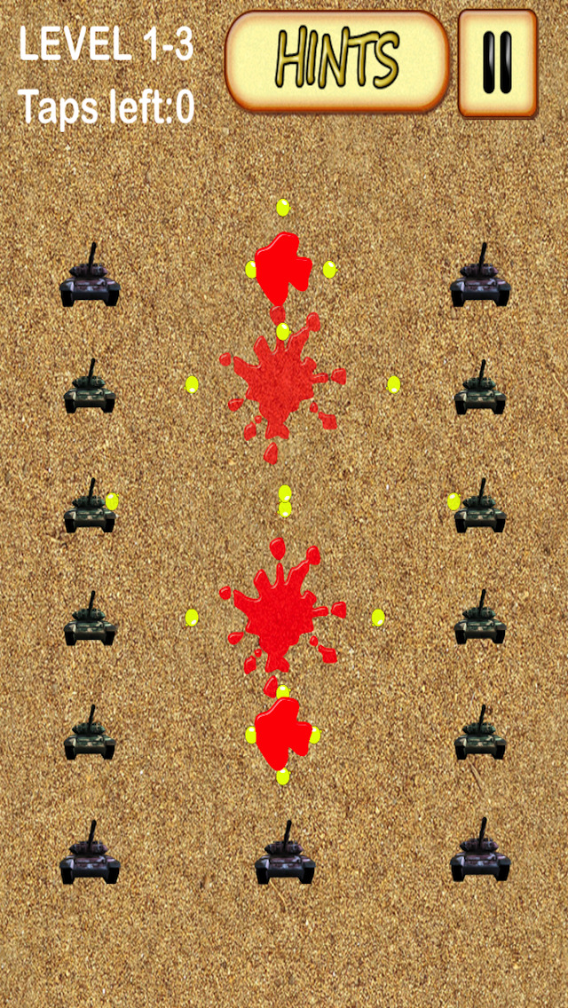 A Pro Full Version Strategy Puzzle Guns Tanks Cannons Solve It Game screenshot 1
