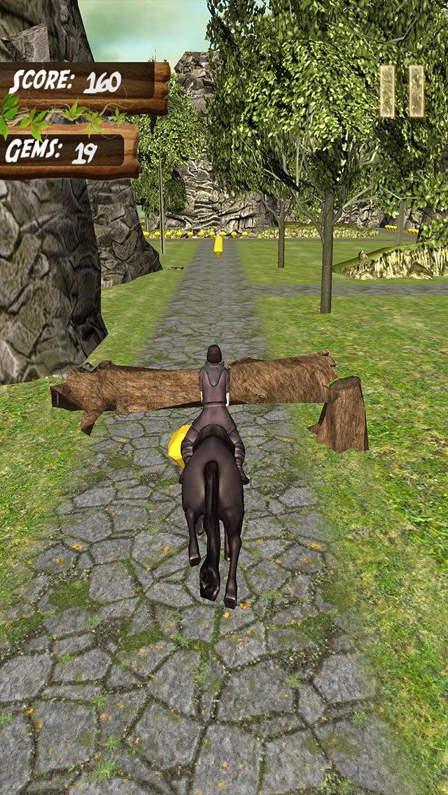 Jumping Horse Adventure - Pro screenshot 1