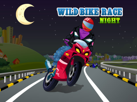Wild Bike Race Night screenshot 6