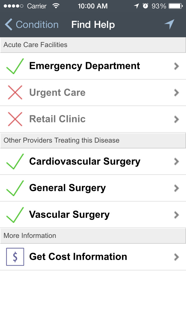 iTriage - Health, Doctor, and Symptoms search screenshot 4