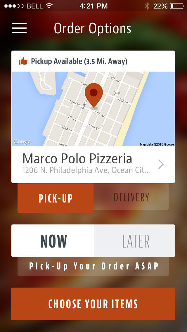 Marco Polo Pizzeria screenshot 2