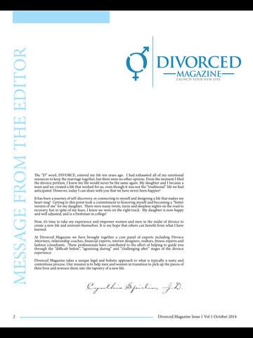 DIVORCE 411 MAGAZINE screenshot 9