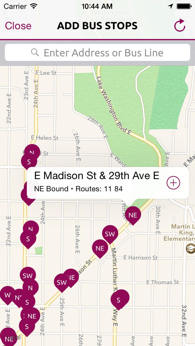 BusMe — Puget Sound Bus Departures screenshot 3