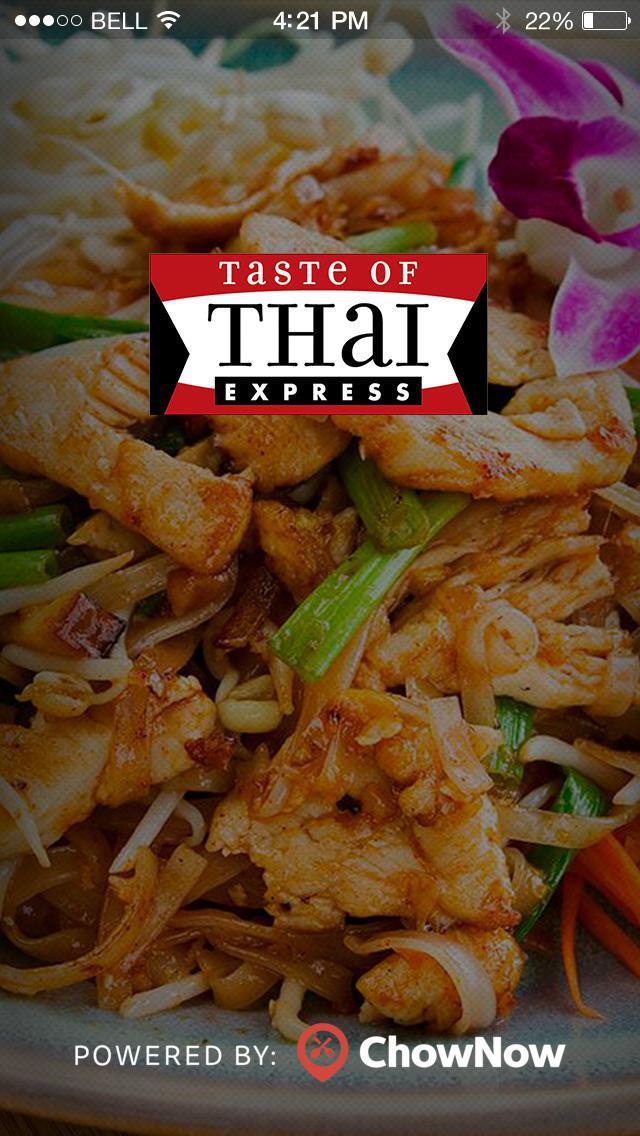 Taste of Thai Express screenshot 1