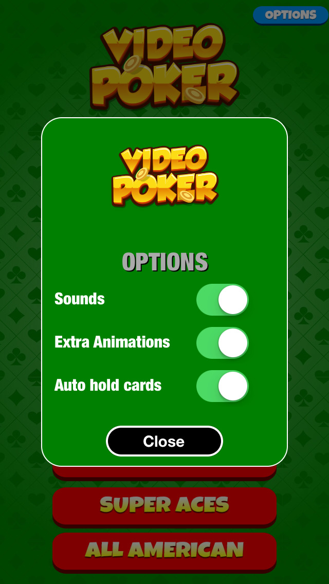 A Video Poker Casino Game screenshot 4
