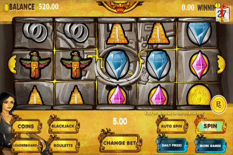 Aces Casino Lucky Aztec Temple Slots Pro - náhled