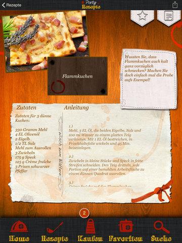 Party-Rezepte - Schnelle Häppchen, kaltes Buffet und Fingerfood screenshot 7