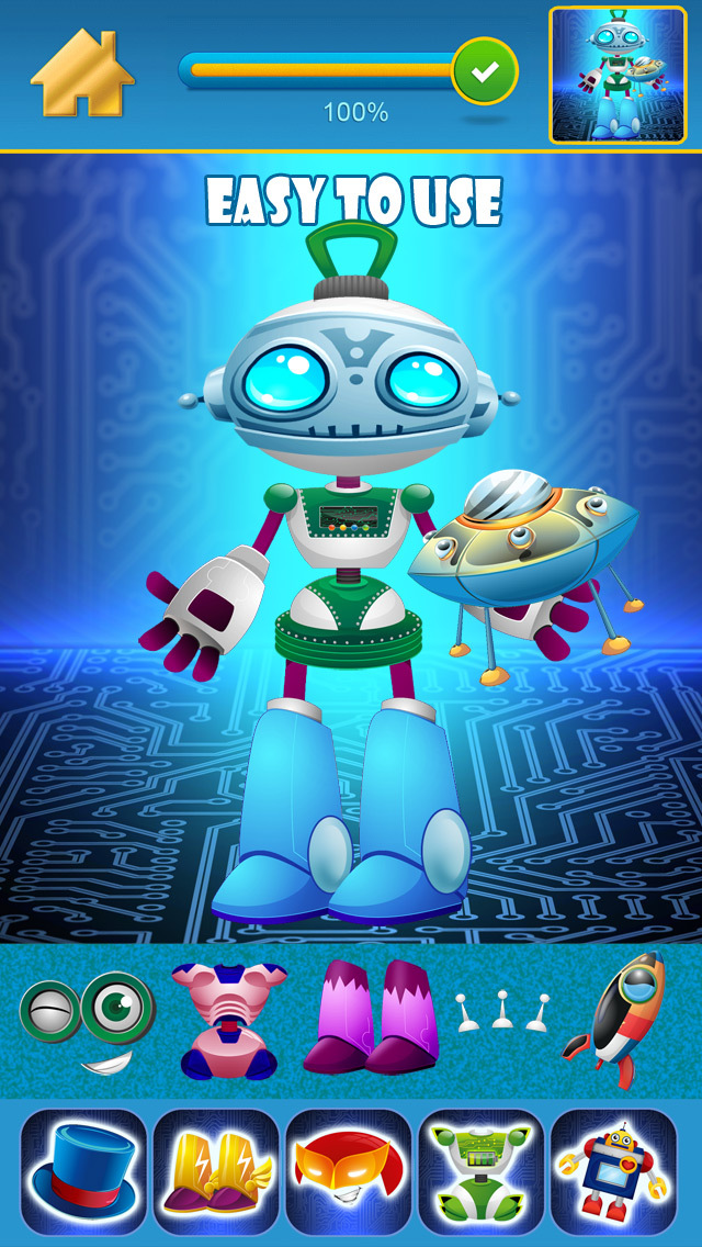 My Little World of Real Robots Copy And Create Free Game App screenshot 4