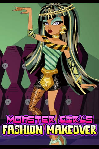 Monster Girls Fashion Beauty Makeover & Dress Up:  - náhled