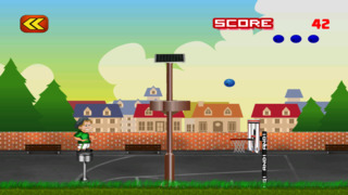 Free Basketball Game Flick It Free Throw Basketball Tricks screenshot 4