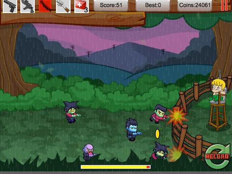 Tiny Zombies The Barricade Free screenshot 7