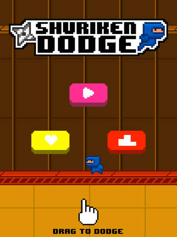 Shuriken Dodge screenshot #1