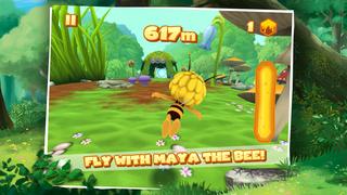 Maya The Bee: Flying Challenge screenshot 1