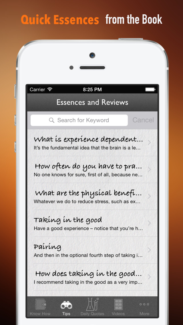 Buddha's Brain: Practical Guide Cards with Key Insights and Daily Inspiration screenshot 3