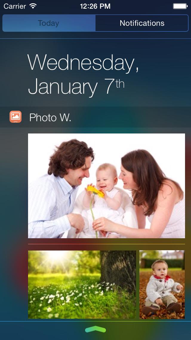 Photo Widget screenshot 1