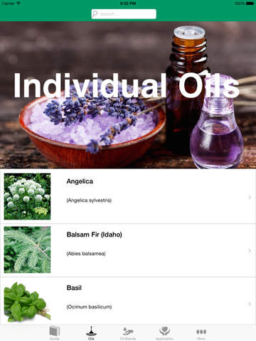 Essential Oils Reference Guide screenshot 7