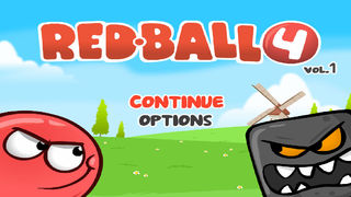 Red Ball Rolling screenshot 1