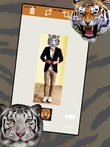 Tiger Sticker Fun screenshot 6