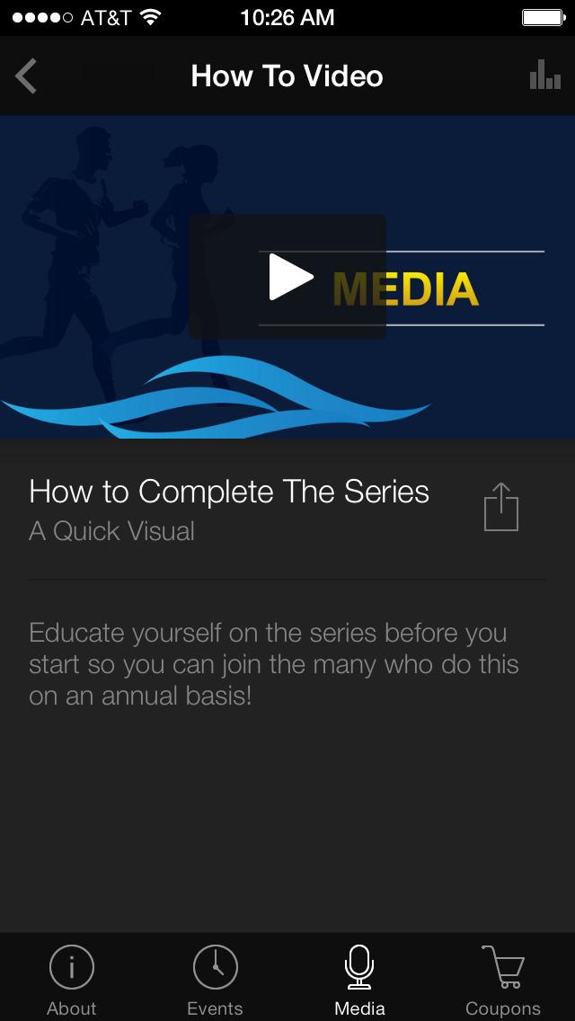 Series Runner screenshot 3