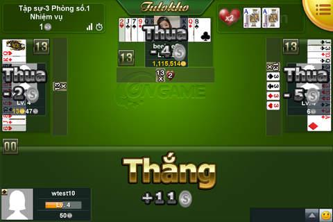Ongame Tiến Lên (game bài) - náhled