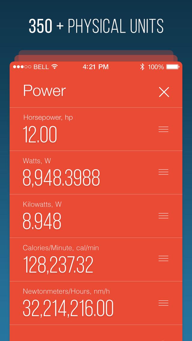 Fancy Units Converter screenshot 3