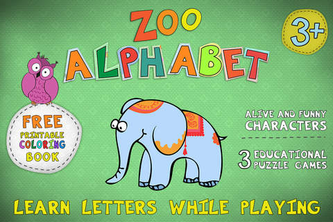 Zoo Alphabet for kids - náhled