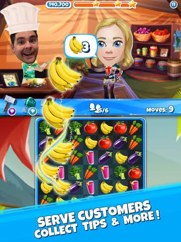 Crazy Kitchen: Match 3 Puzzles screenshot 8