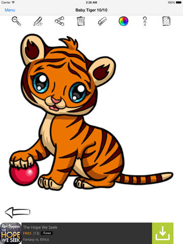 Learn To Draw Cute Anime Animals screenshot 10