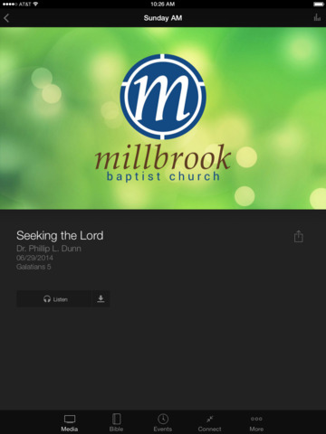 Millbrook Baptist Church screenshot 6