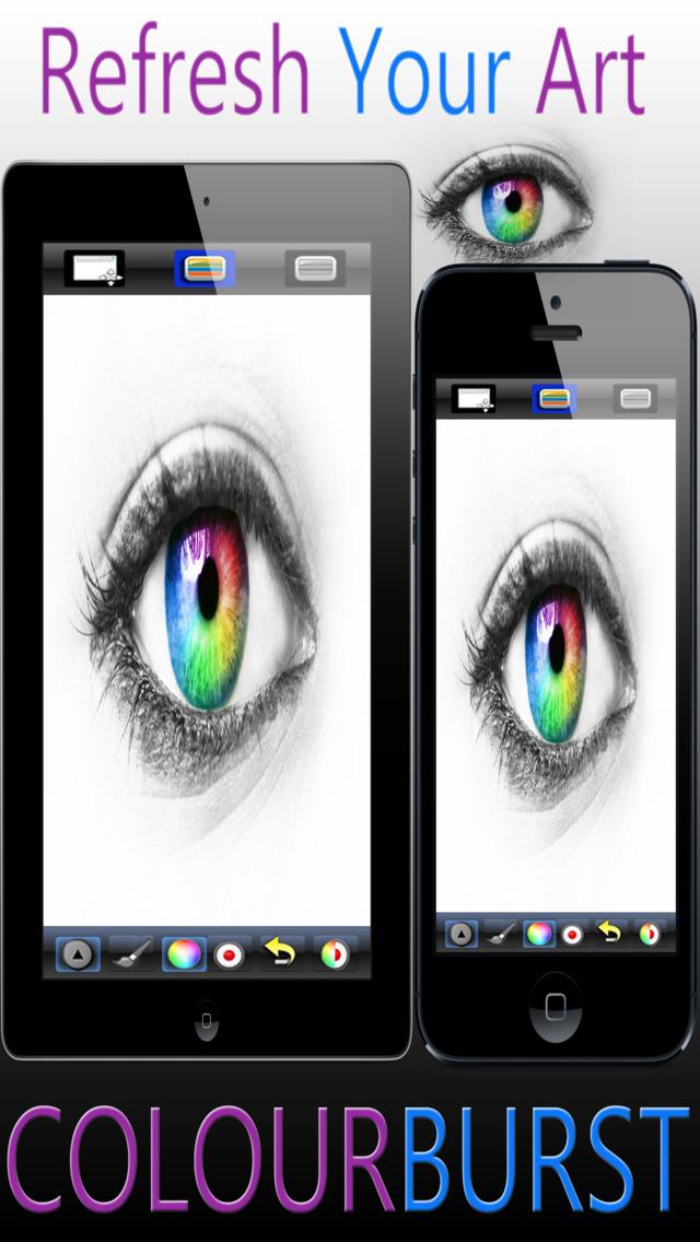 Color Burst - Mix Color Images With Black & White screenshot 3