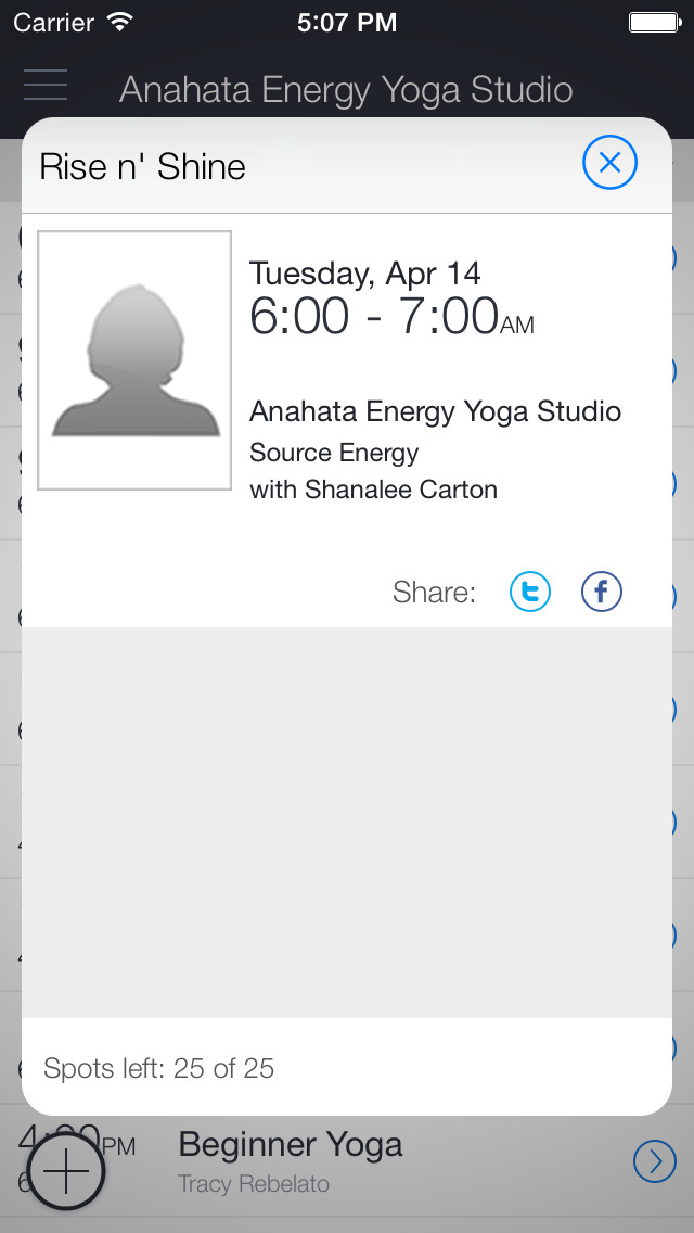 Anahata Energy Yoga Studio screenshot 2