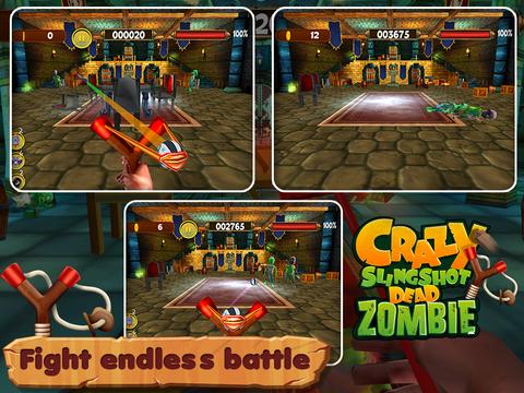 Crazy Slingshot Dead Zombie screenshot 5