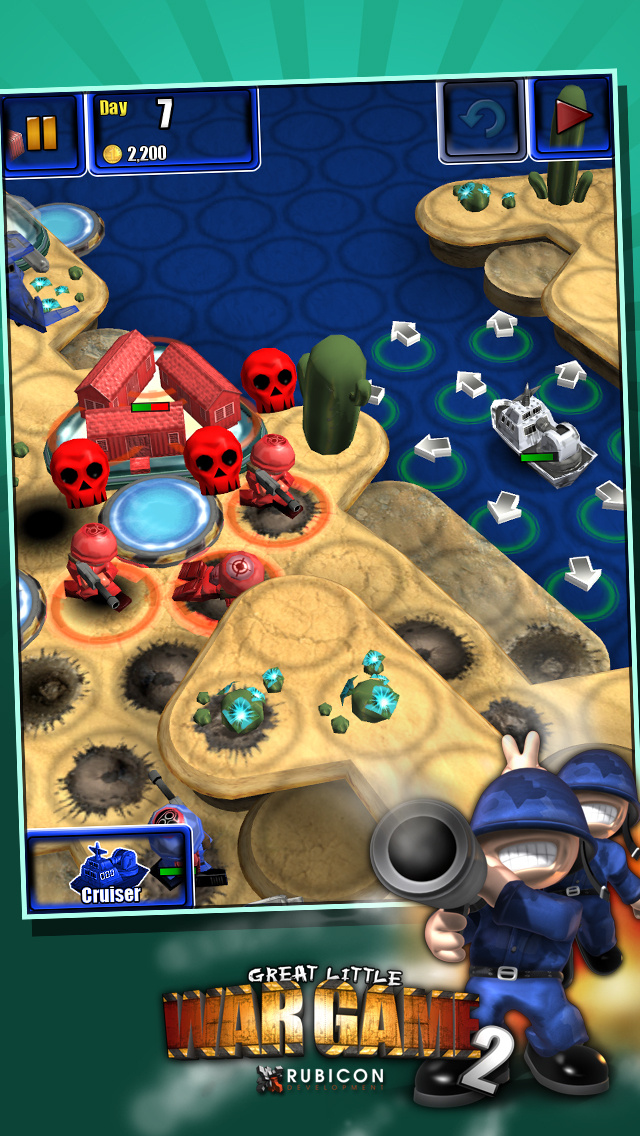 Great Little War Game 2 Free screenshot #4