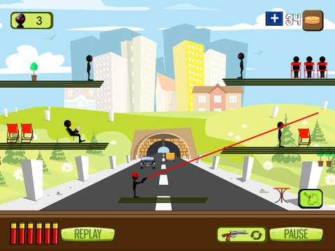 Stickman Commando Attack screenshot 6