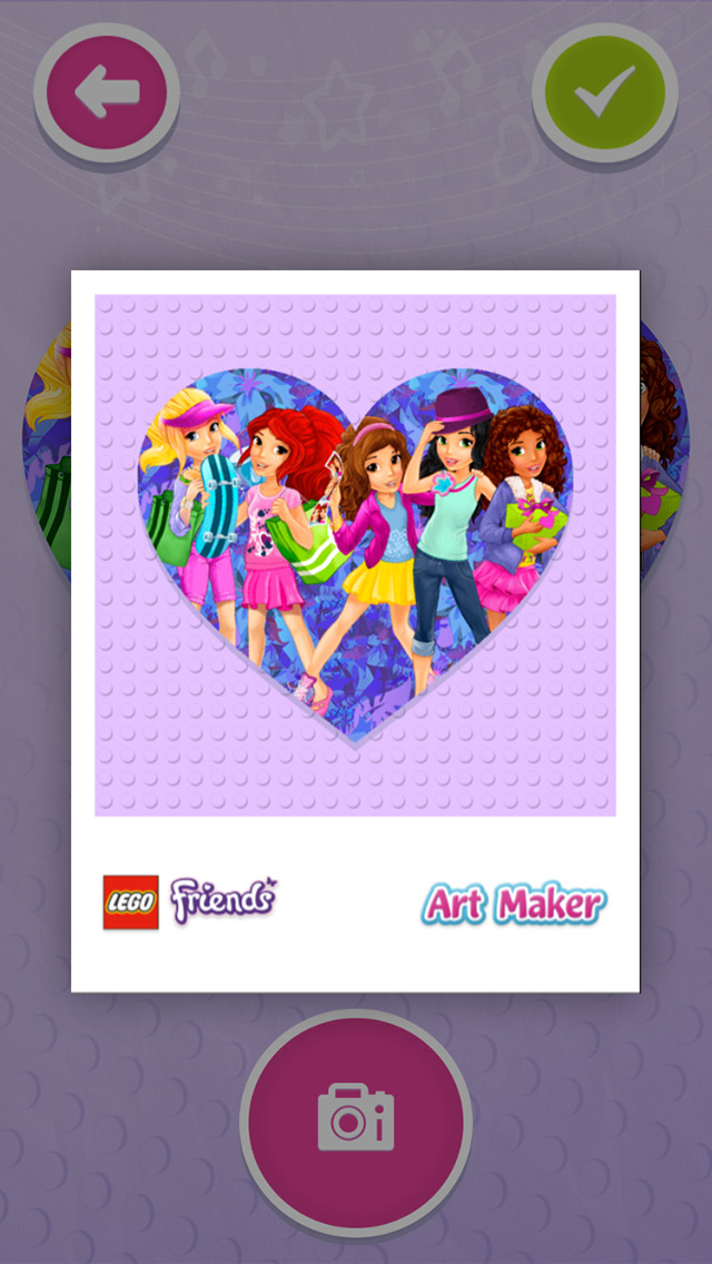 LEGO® Friends Art Maker screenshot 4