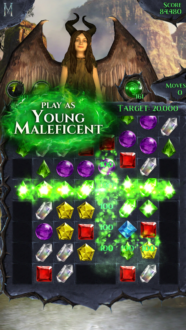 Maleficent Free Fall screenshot 2