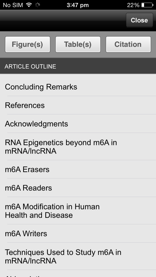 Translational Research screenshot 2