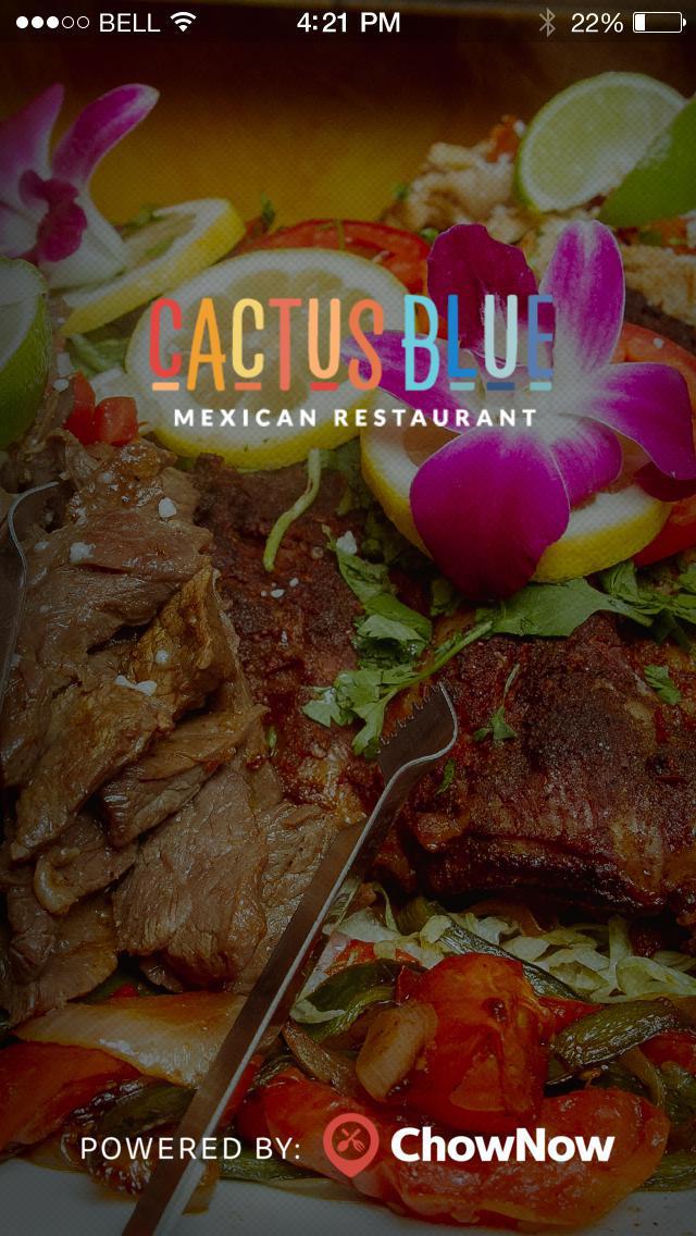 Cactus Blue Restaurant screenshot 1