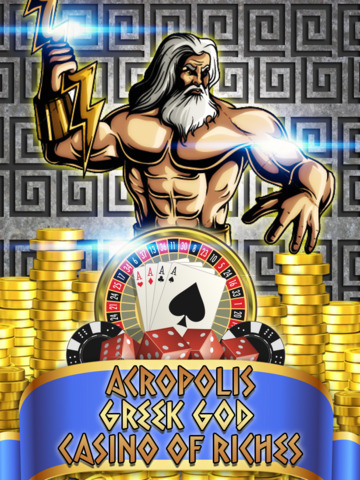 Greek God Casino of Acropolis Riches (777 Lucky Slots)  - Free Slot Machine Game screenshot 6