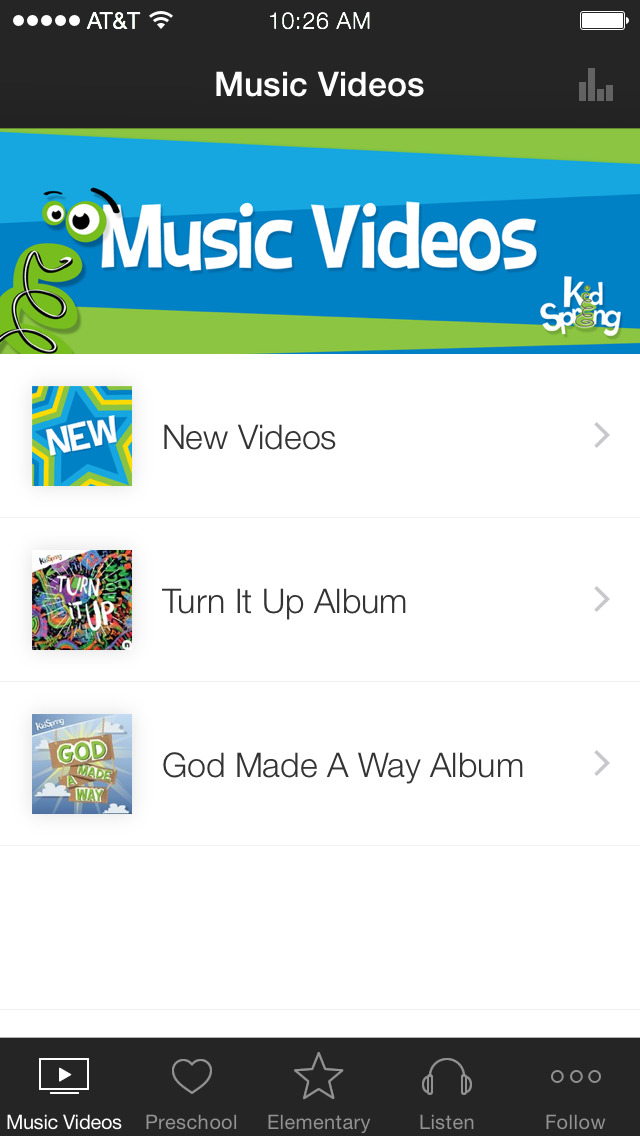 KidSpring screenshot 1