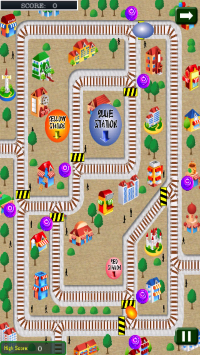 Happy Egg In The City screenshot 1