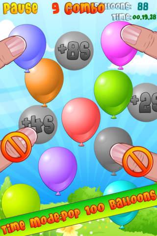 Balloon Mania - Pop Pop Pop - náhled