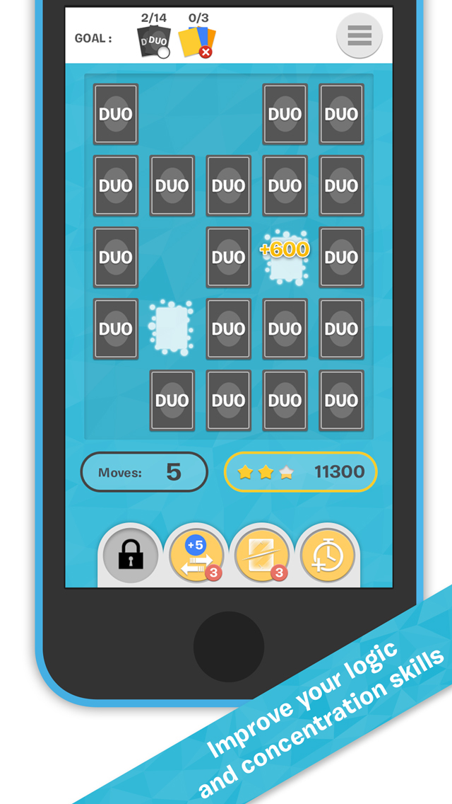 DUO! Pairs & Brain Fitness Game screenshot 3
