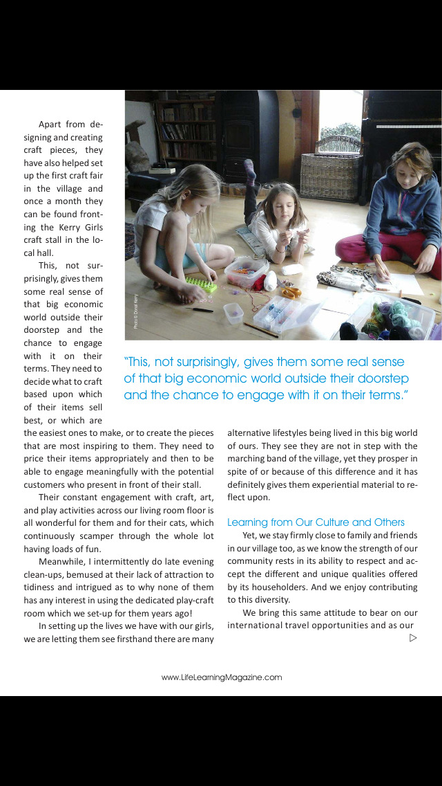 Life Learning Magazine screenshot 5