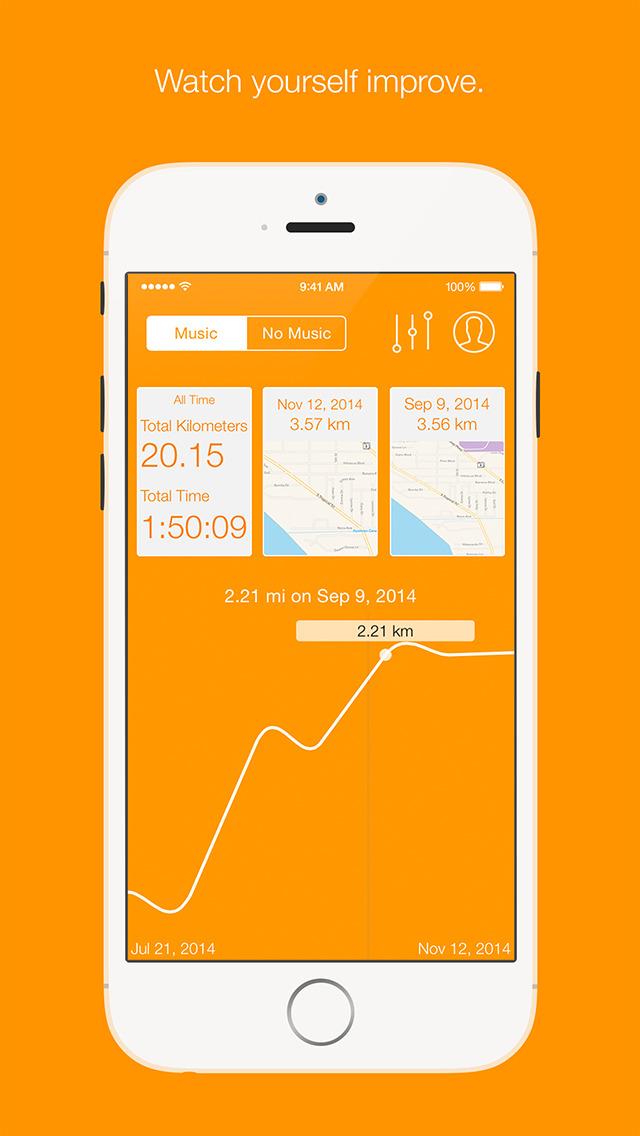 Runr - GPS Run Tracker screenshot 3