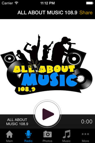 All About Music 108.9 - náhled