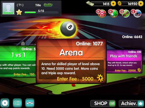 iSnooker screenshot 6