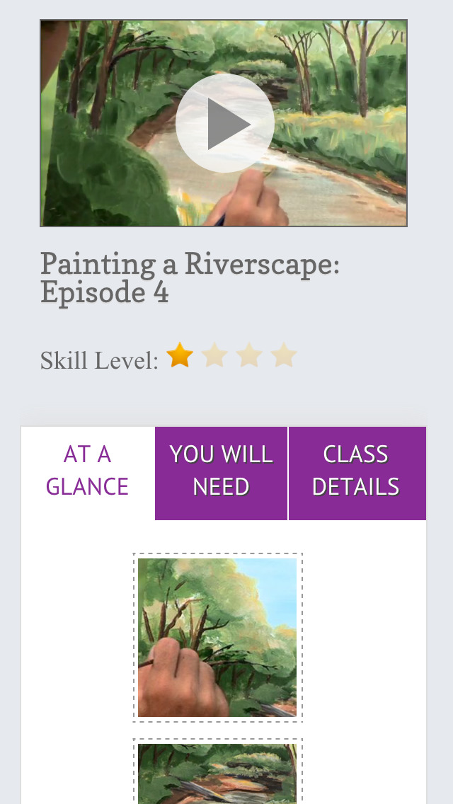 Paint a Riverscape in Acrylics screenshot 4