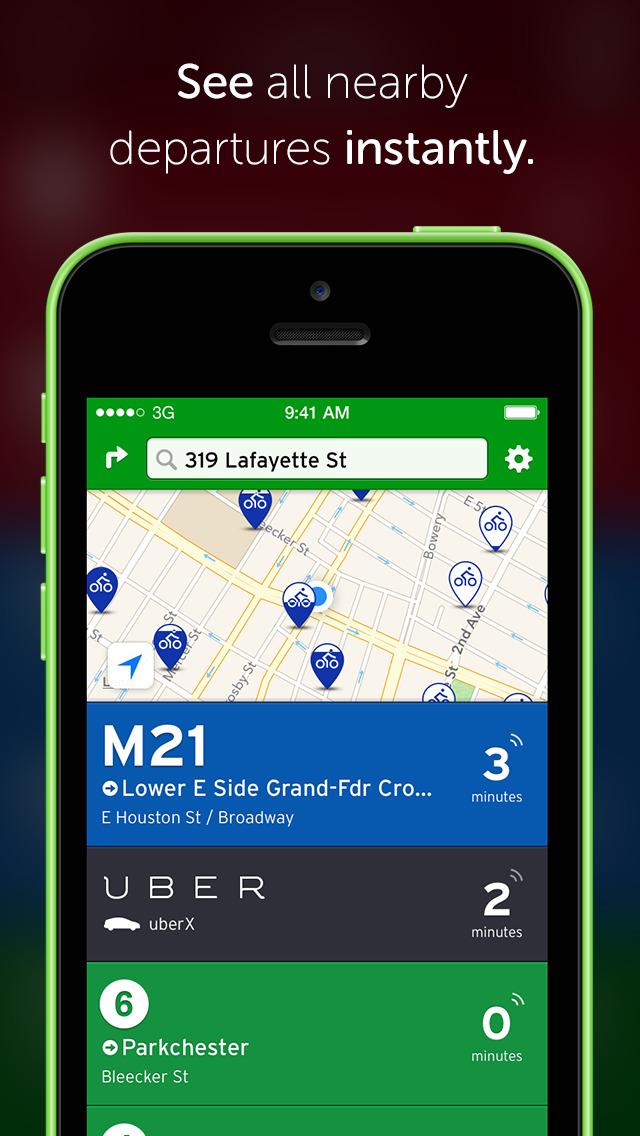 Transit • Subway & Bus Times screenshot 1